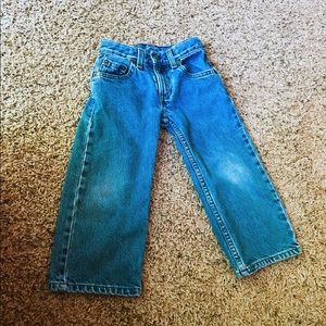 Levi jeans for toddler size 4